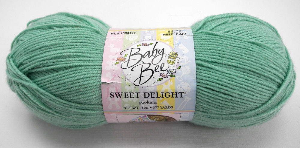 Baby Bee Sweet Delight Light Weight Yarn Color Green