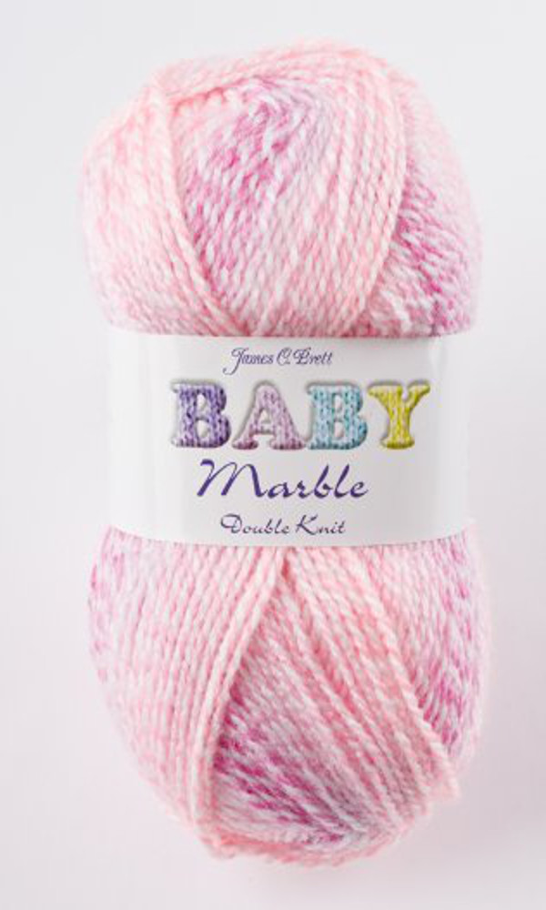 James Brett Baby Marble DK Soft Knitting Yarn 100g Ball