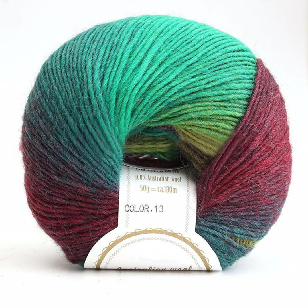 Baby Wool Luxury soft Cashmere Baby Wool 50g Ball Rainbow Colorful Knitting Of Unique 47 Ideas Baby Wool