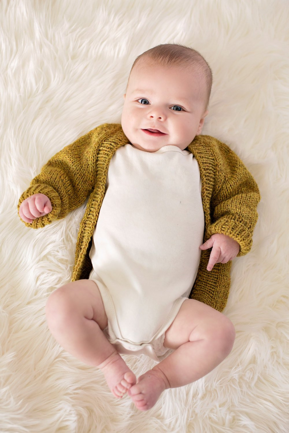 Baby Cardigan wool baby sweater knit baby sweater organic
