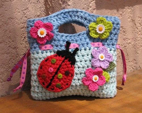 Bag for Crochet Supplies Elegant Girls Bag Purse with Ladybug and Flowers Crochet Of Fresh 48 Photos Bag for Crochet Supplies