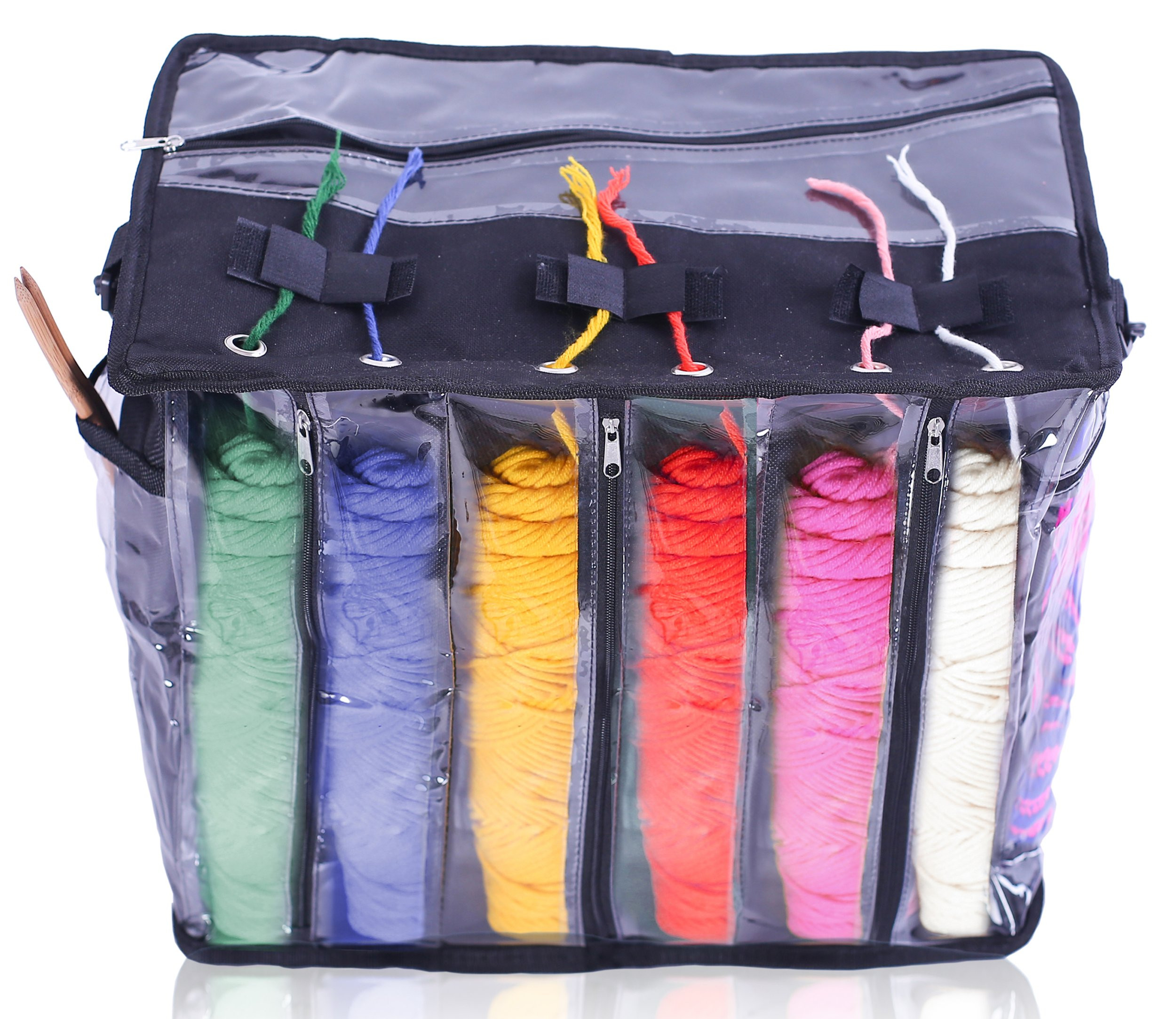Imperius Yarn Storage Bag Portable Tote Easy to Crochet