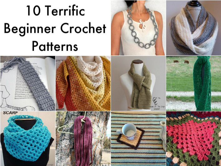 Basic Crochet Patterns Awesome 10 Simple Crochet Patterns for Beginners Of Amazing 47 Ideas Basic Crochet Patterns