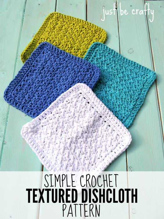 Basic Crochet Patterns Awesome Simple Crochet Textured Dishcloth Free Pattern Of Amazing 47 Ideas Basic Crochet Patterns