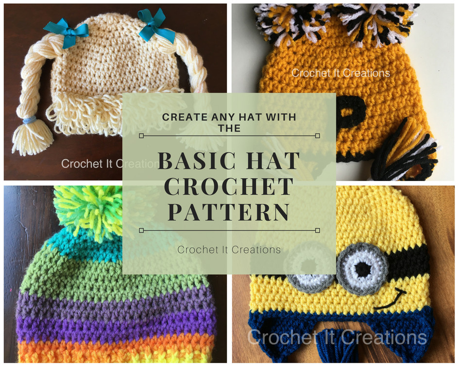 Basic Crochet Patterns Beautiful Basic Hat Crochet Pattern Crochet It Creations Of Amazing 47 Ideas Basic Crochet Patterns