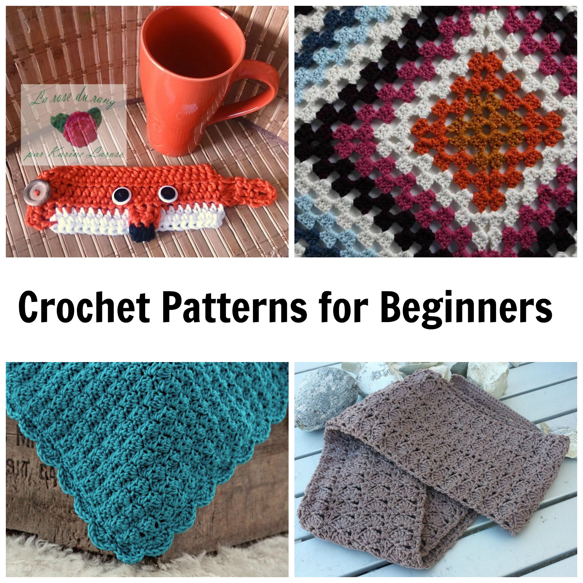 Basic Crochet Patterns Best Of 7 Not Boring Crochet Patterns for Beginners Of Amazing 47 Ideas Basic Crochet Patterns