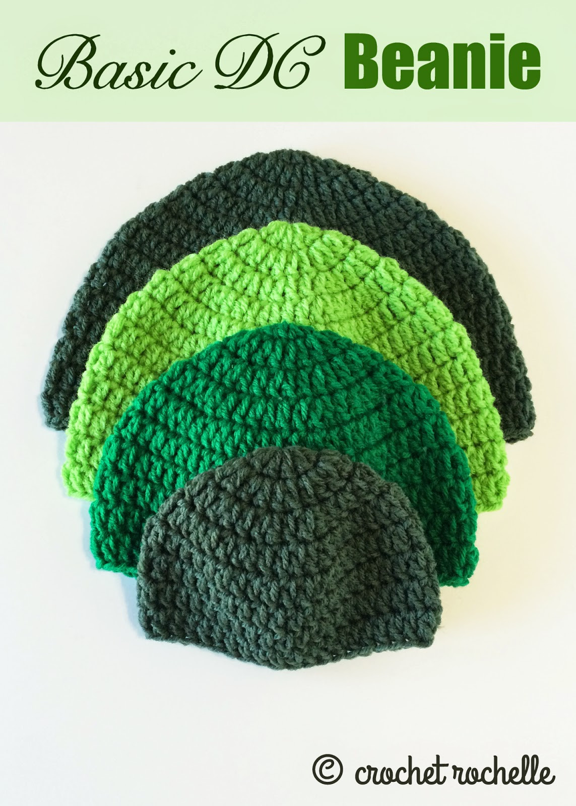 Basic Crochet Patterns New Crochet Rochelle Basic Dc Beanie Pattern Of Amazing 47 Ideas Basic Crochet Patterns