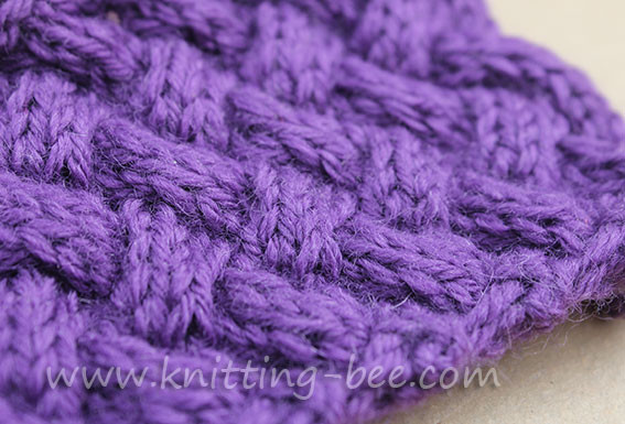 Basketweave Stitch Awesome Diagonal Basketweave Cable Stitch – Medium ⋆ Knitting Bee Of Innovative 48 Photos Basketweave Stitch