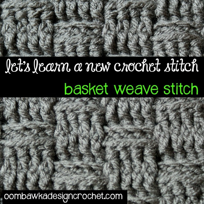 Basketweave Stitch Awesome How to Crochet the Basketweave Stitch Of Innovative 48 Photos Basketweave Stitch