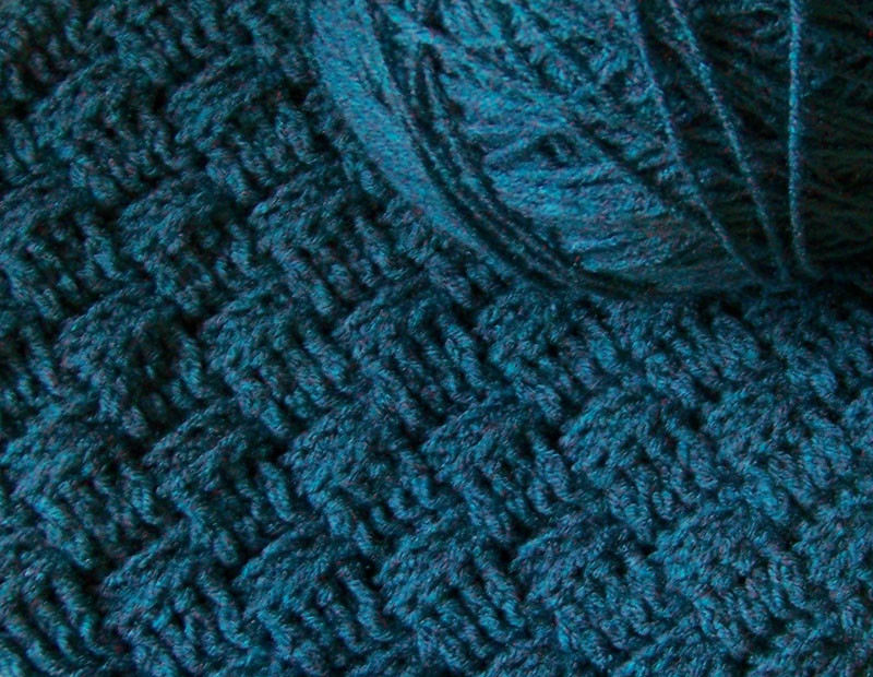 crochet stitches basketweave
