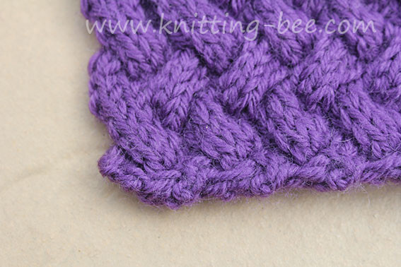 Basketweave Stitch New Diagonal Basketweave Cable Stitch – Medium ⋆ Knitting Bee Of Innovative 48 Photos Basketweave Stitch
