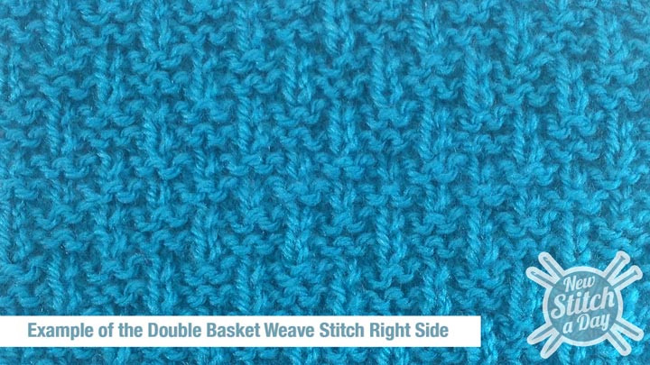 Basketweave Stitch New the Double Basket Weave Stitch Knitting Stitch 127 Of Innovative 48 Photos Basketweave Stitch