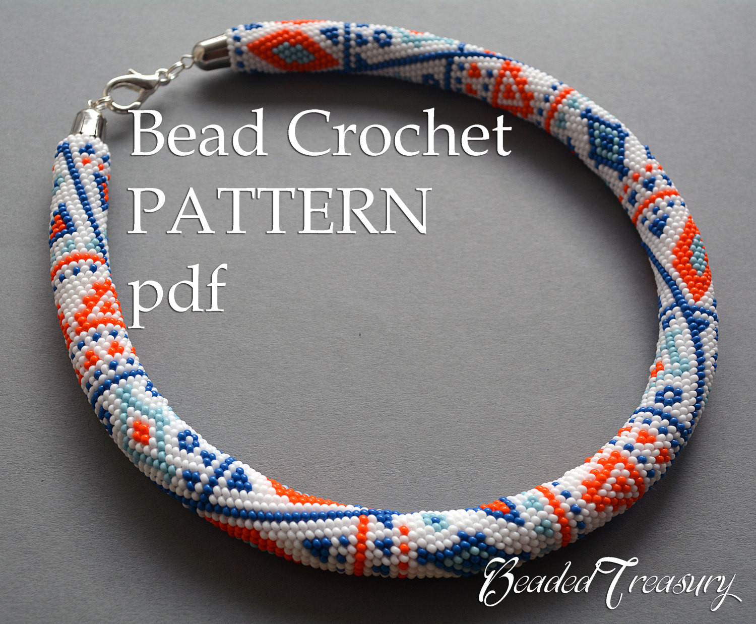 """Bead Crochet Rope Awesome Pattern for Bead Crochet Necklace """"ethnic Way"""" Bead Of Attractive 50 Images Bead Crochet Rope"""
