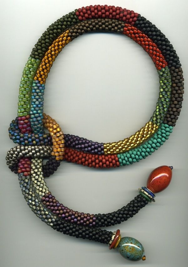 Bead Crochet Rope Beautiful Catherine Hysell Beaded Jewelry Pinterest Of Attractive 50 Images Bead Crochet Rope