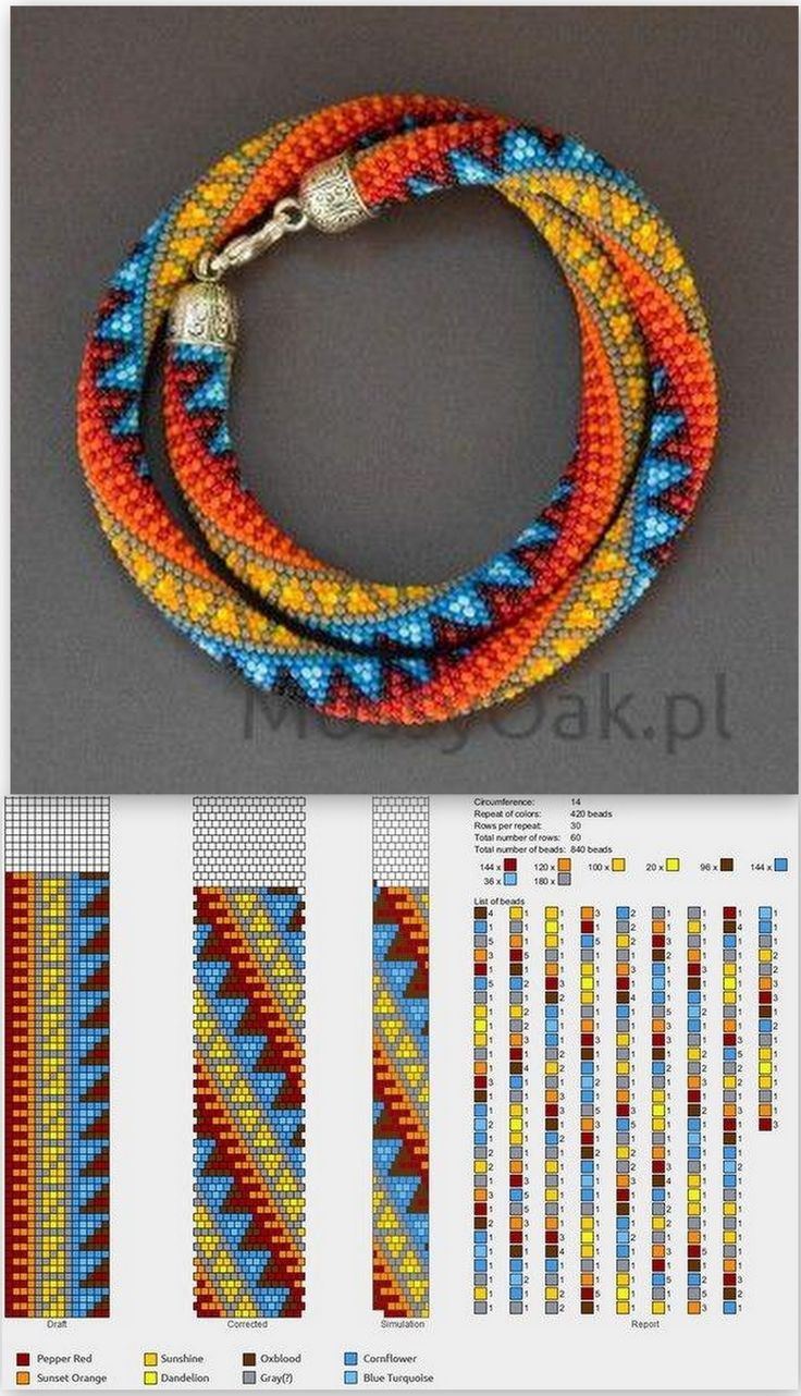 1034 best images about Collares chaquiras on Pinterest