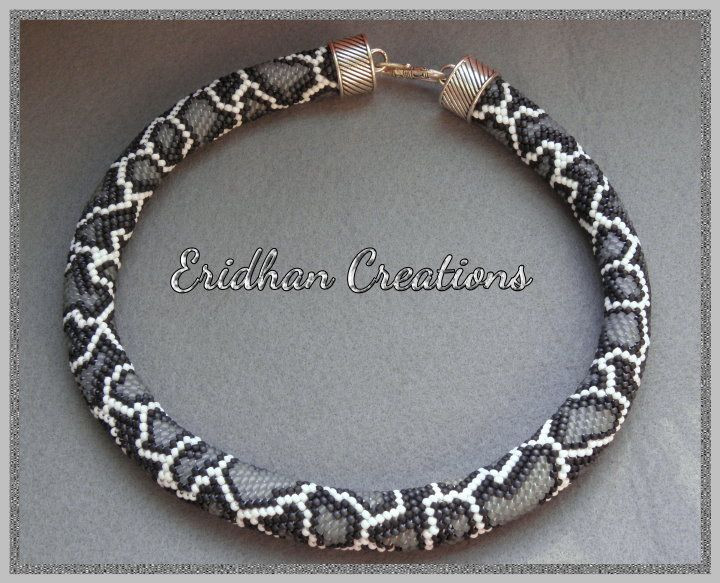 Bead Crochet Rope Luxury Snake Beaded Crochet Necklace Discussion and Several Of Attractive 50 Images Bead Crochet Rope