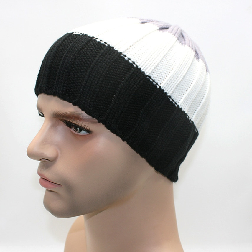 Beanie Hat Pattern Unique Aliexpress Buy Autumn and Winter Man Hats Slouchy Of Amazing 45 Ideas Beanie Hat Pattern
