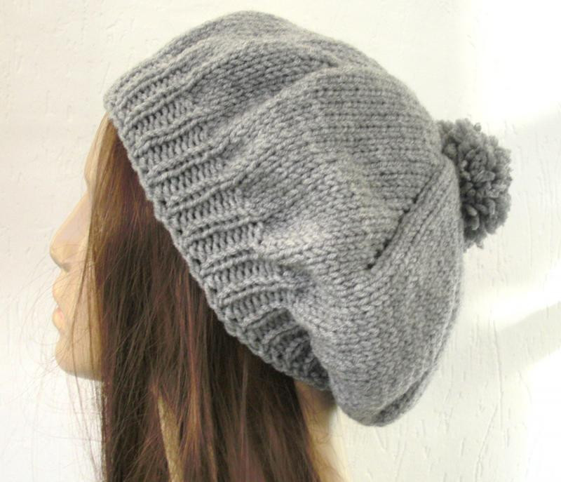 Beanie Knitting Pattern Awesome Slouchy Beanie Knit Pattern Of Marvelous 50 Pictures Beanie Knitting Pattern