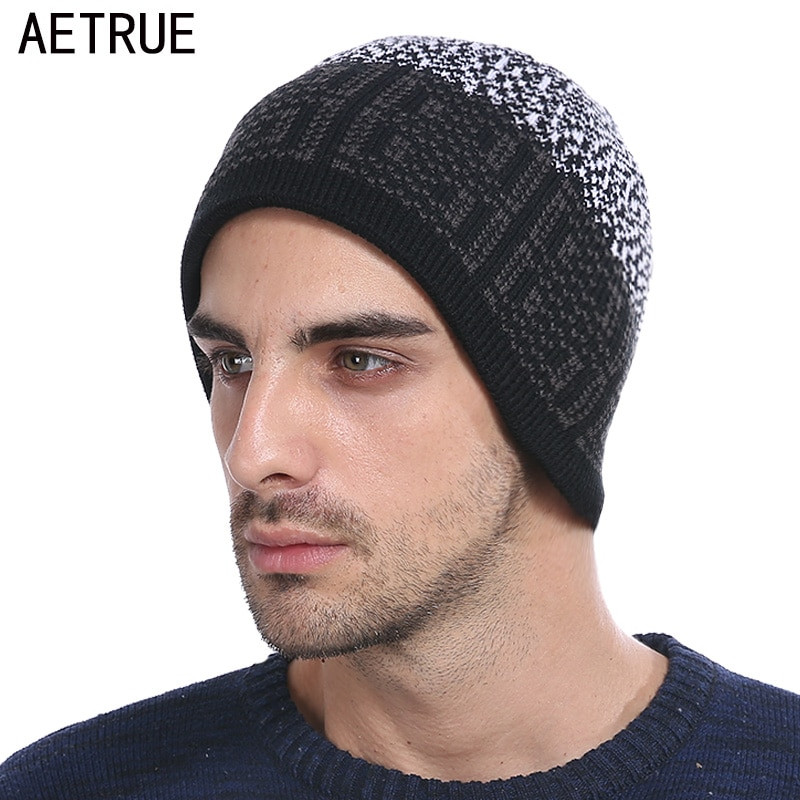 Beanies for Men Elegant Winter Skullies Beanies Knitted Hat Men Winter Hats for Of Amazing 47 Images Beanies for Men