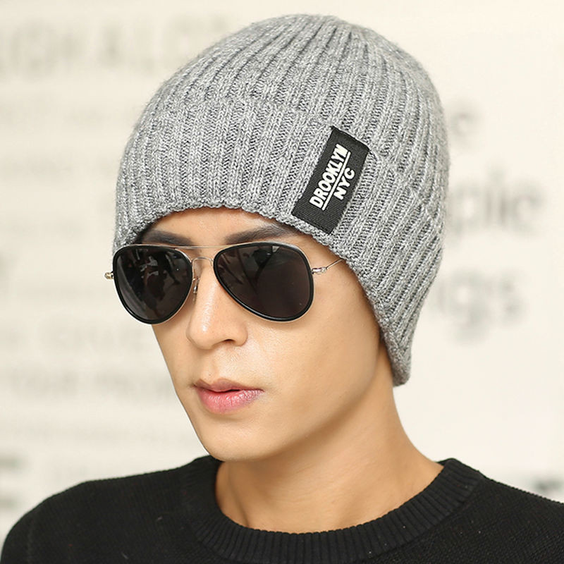 Beanies for Men Inspirational 2016 Brand Skullies & Beanies Winter Wool Knit Hats for Of Amazing 47 Images Beanies for Men
