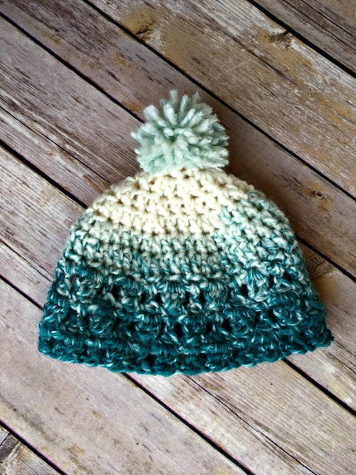 1 Hour Baby Scarfie Hat