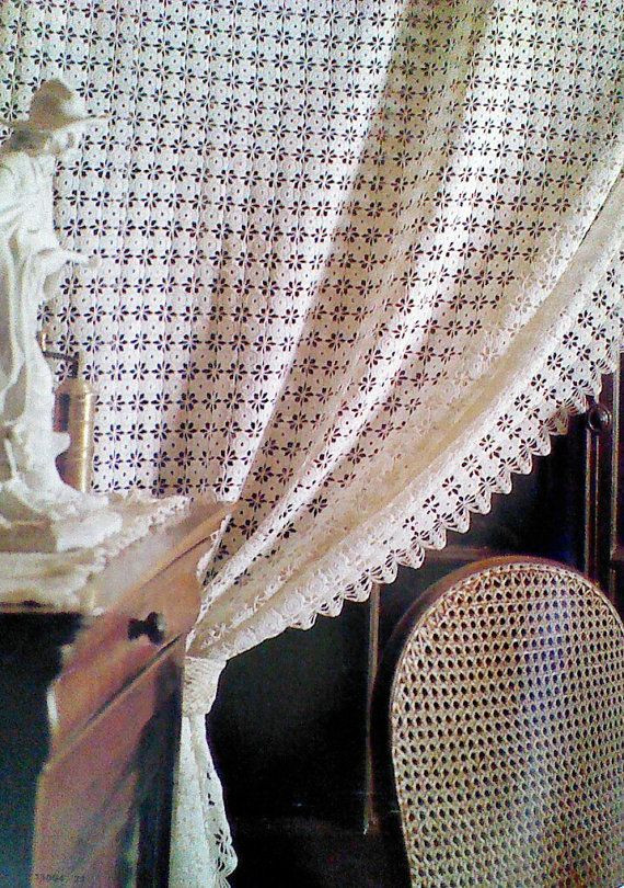 1000 images about crochet curtains and lace edges on