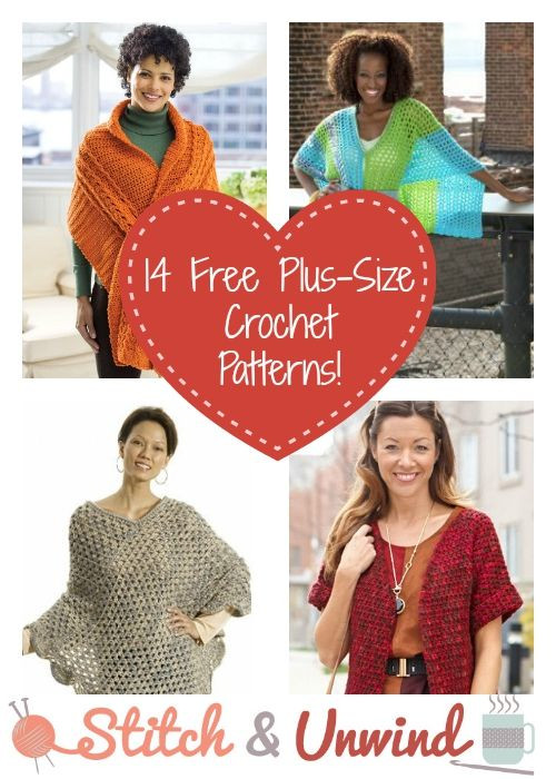 Beautiful 1000 Images About Crochet Plus Size On Pinterest Free Plus Size Crochet Patterns Of Top 45 Pics Free Plus Size Crochet Patterns