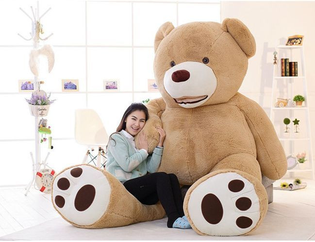 "Beautiful 102"" 260cm 8 5ft Huge Giant Teddy Bear Cotton Plush Life Stuffed Bears for Sale Of New 48 Ideas Stuffed Bears for Sale"