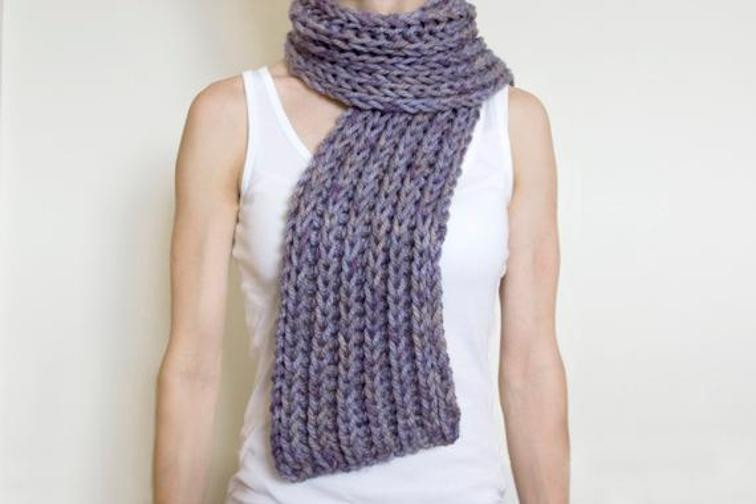 Beautiful 11 Chunky Knit Scarf Patterns to Knit This Weekend Easy Knit Scarf Pattern Free Of Top 44 Photos Easy Knit Scarf Pattern Free