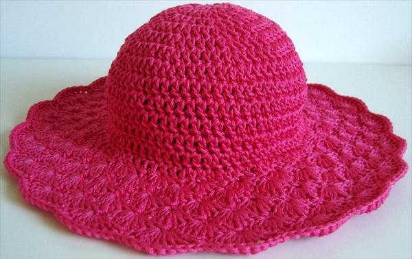 Beautiful 11 Diy Summer Crochet Hat Patterns Crochet Hat with Brim Free Patterns Of Incredible 49 Ideas Crochet Hat with Brim Free Patterns