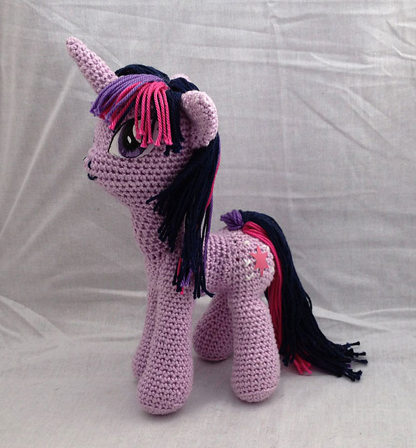 Beautiful 13 Mystical Unicorn Crochet Patterns to Make Your Inner My Little Pony Crochet Pattern Of Brilliant 49 Ideas My Little Pony Crochet Pattern