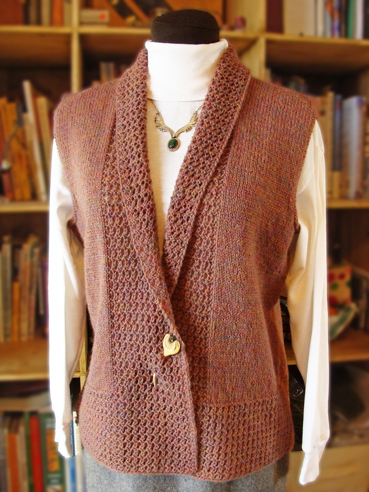 Beautiful 14 Best Images About şal Yelek On Pinterest Knitted Vest Patterns Of Amazing 50 Models Knitted Vest Patterns