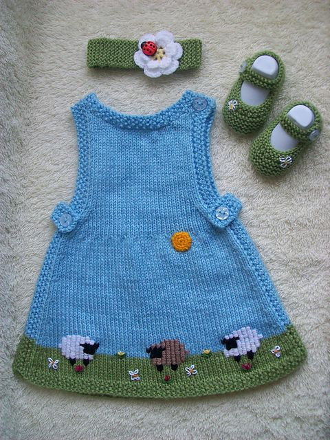 Beautiful 143 Best Knitting Babies Dresses&skirts Images On Knitted Baby Dress Of Brilliant 49 Photos Knitted Baby Dress