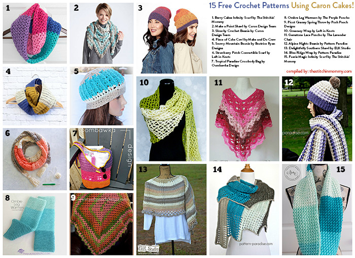 Beautiful 15 Free Crochet Patterns Using Caron Cakes the Stitchin Caron Big Cakes Crochet Patterns Of Marvelous 50 Pics Caron Big Cakes Crochet Patterns