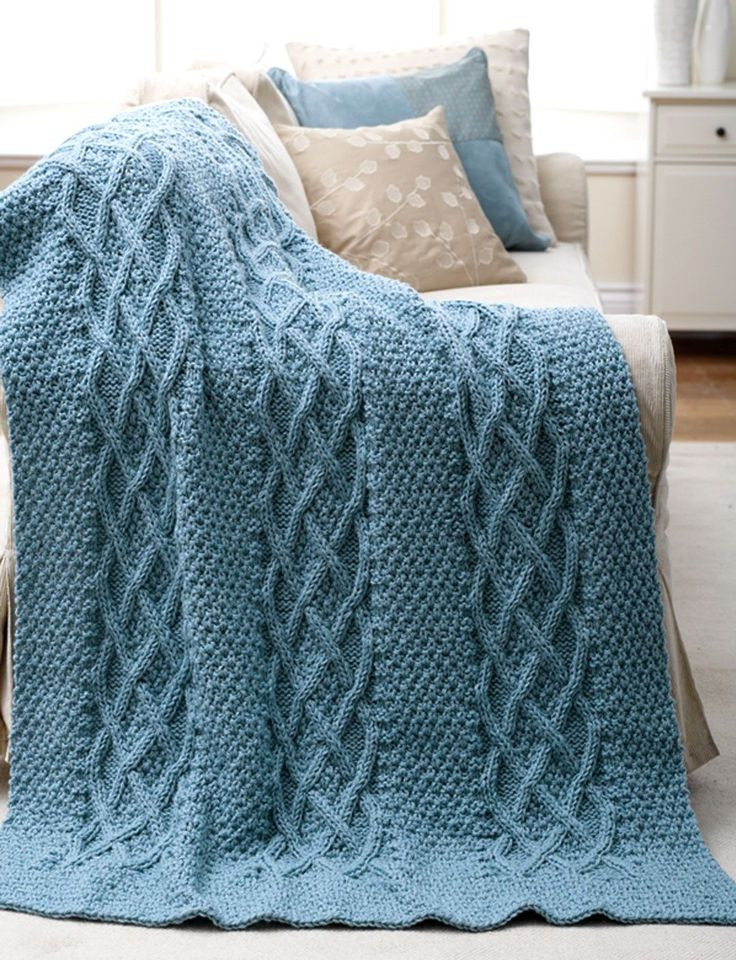 17 Best ideas about Knitted Afghan Patterns on Pinterest