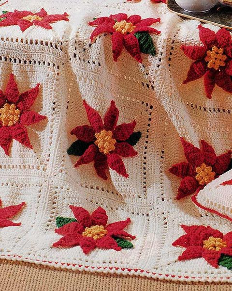 Beautiful 17 Best Images About Crochet Christmas Blankets On Crochet Christmas Afghan Of Contemporary 48 Pics Crochet Christmas Afghan