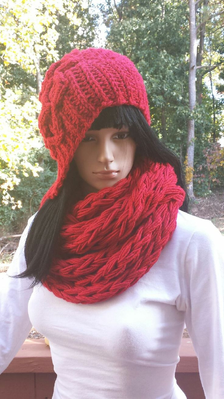 Beautiful 17 Best Images About Crochet Infinity Scarf On Pinterest Crochet Hat and Scarf Of Superb 50 Pics Crochet Hat and Scarf