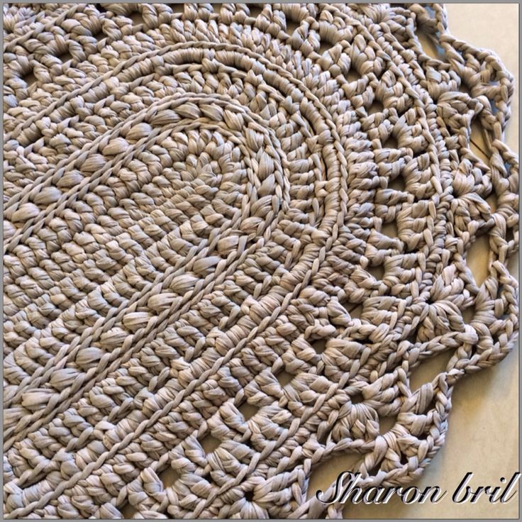 Beautiful 17 Best Images About Crochet Oval Rug On Pinterest Doily Rug Of Fresh 50 Pics Doily Rug