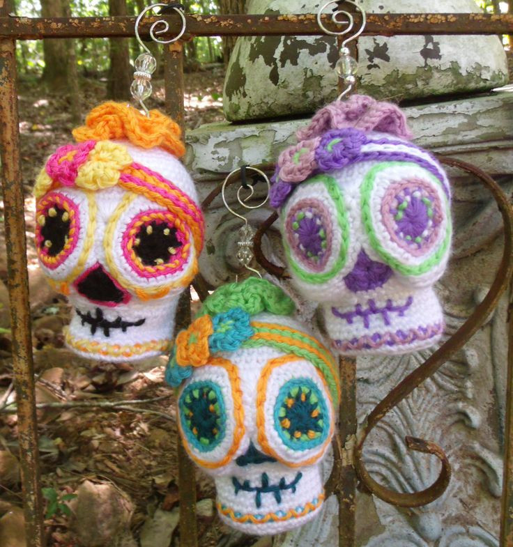 Beautiful 17 Best Images About Crochet Sugar Skulls Copperslay S Crochet Sugar Skull Of Incredible 47 Pictures Crochet Sugar Skull