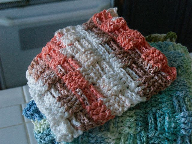Beautiful 17 Best Images About Dishcloth Patterns On Pinterest Basketweave Crochet Afghan Pattern Of Amazing 50 Images Basketweave Crochet Afghan Pattern