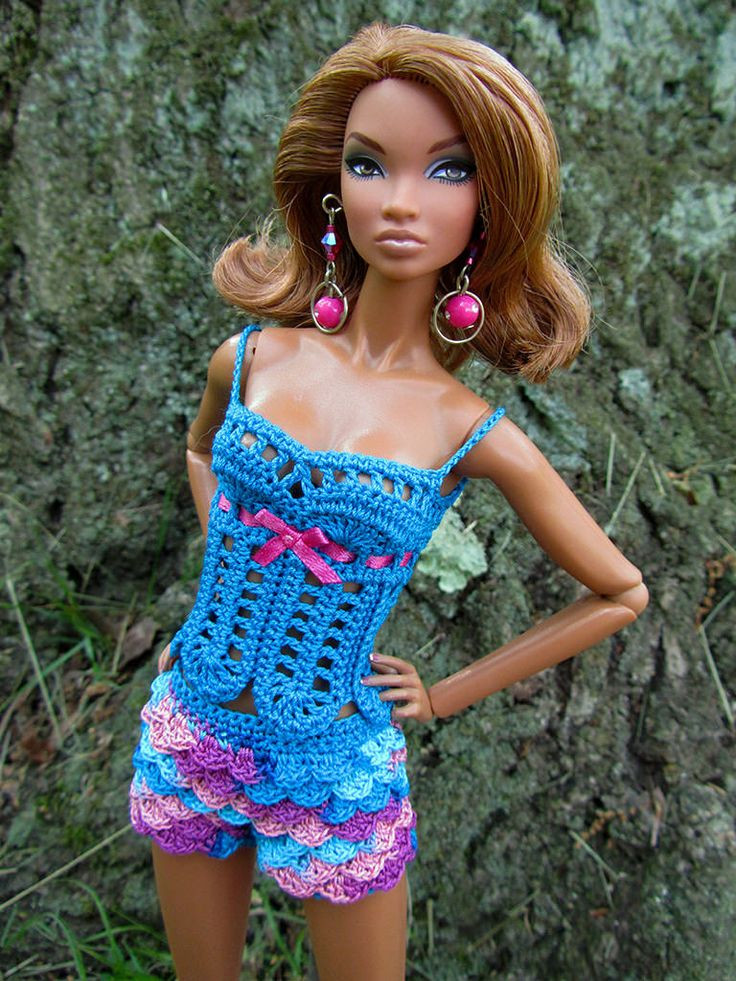 17 Best images about Knit & Crochet Doll clothes on
