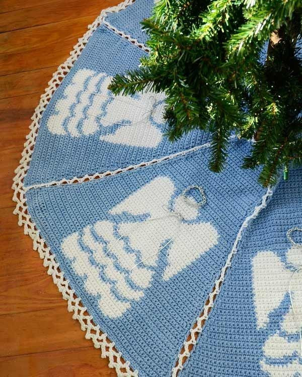 Beautiful 17 Best Images About Tree Skirt On Pinterest Crochet Tree Skirt Of Innovative 45 Ideas Crochet Tree Skirt