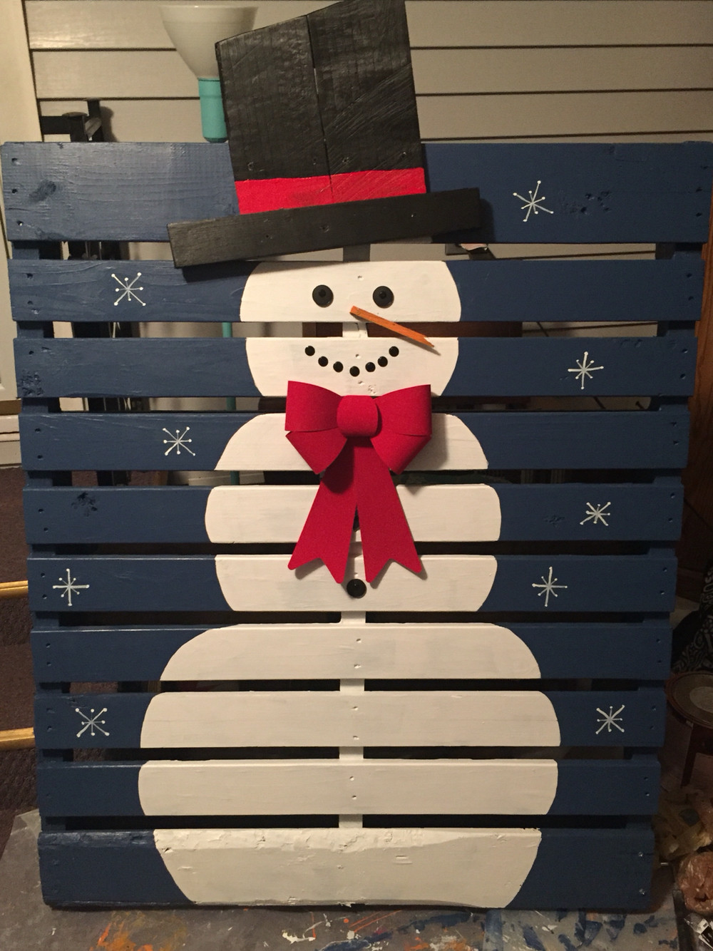 Beautiful 17 Pallet Projects to Deck Your Halls for Christmas Christmas Snowman Decorations Of Adorable 41 Models Christmas Snowman Decorations