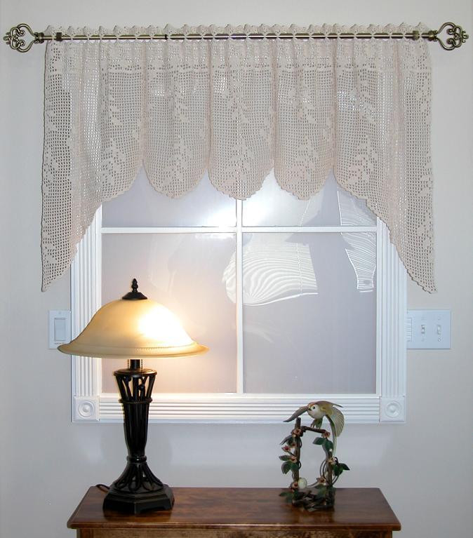 Beautiful 19 Cool Patterns for Crochet Curtains Free Crochet Curtain Patterns Of Attractive 50 Models Free Crochet Curtain Patterns