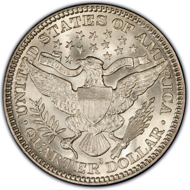1912 Barber Quarter Values and Prices Past Sales