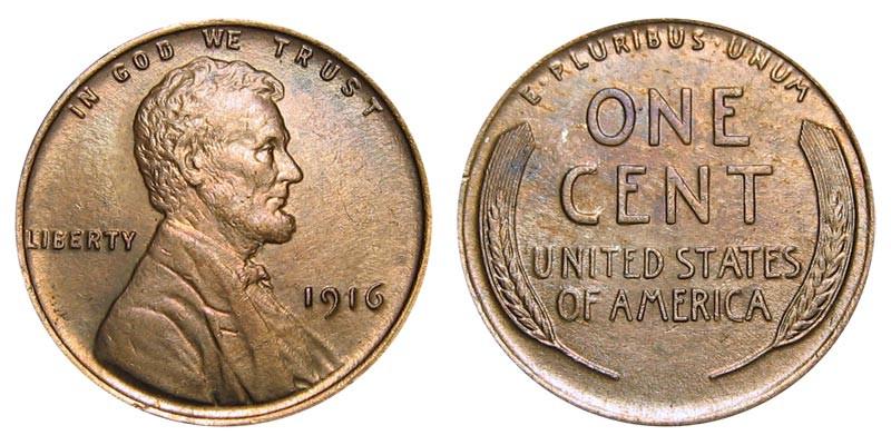 Beautiful 1916 Lincoln Wheat Cent Bronze Posite Penny Value and Lincoln Cent Values Of Amazing 50 Images Lincoln Cent Values