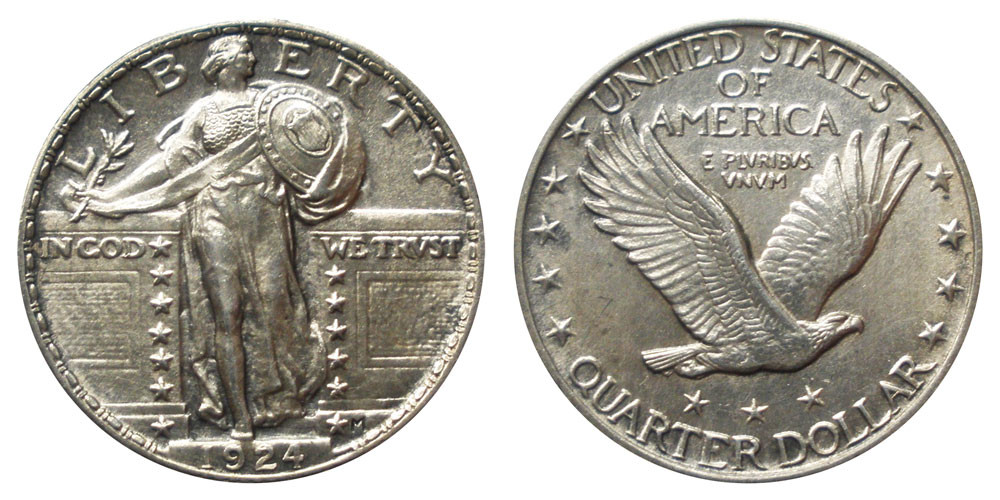Beautiful 1924 Standing Liberty Quarters Type 2 Value and Prices Liberty Quarter Value Of Contemporary 45 Photos Liberty Quarter Value