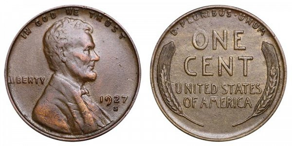 Beautiful 1927 S Lincoln Wheat Cent Bronze Posite Penny Value Lincoln Cent Values Of Amazing 50 Images Lincoln Cent Values