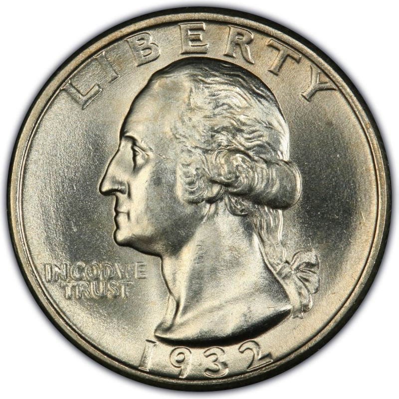 Beautiful 1932 Washington Quarter Values and Prices Past Sales Valuable Quarters to Look for Of Top 40 Pics Valuable Quarters to Look for