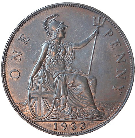 Beautiful 1933 Penny Coin Valued at £80k Offered On Ebay then Valuable Quarters to Look for Of Top 40 Pics Valuable Quarters to Look for